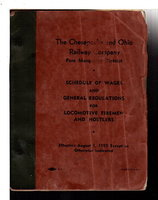 THE CHESAPEAKE AND OHIO RAILWAY COMPANY, Pere Marquette District, Schedule of Wages and General Regulations for Locomotive Firemen and Hostelers.