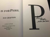 'P' IS FOR PERIL. by Grafton, Sue.