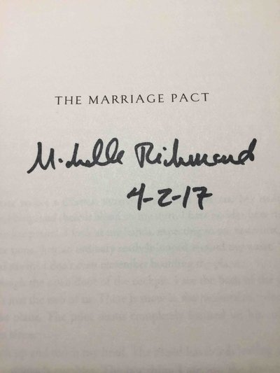 THE MARRIAGE PACT. by Richmond, Michelle.