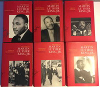 THE PAPERS OF MARTIN LUTHER KING, JR. : Volume I to VI (6 volumes) January 1929 to March 1963.  by King, Martin Luther, Jr, (1929-1968.) Clayborne Carson, Ralph E. Luker, Penny A. Russell, Peter Holloran, Stewart Burns, Louis R. Harlan and others,  editors.