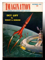 """SKY LIFT"" in IMAGINATION: Stories of Science and Fantasy, Nov. 1953, Vol. 4, No. 10. by Heinlein, Robert A."