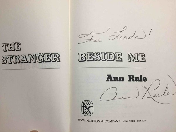 THE STRANGER BESIDE ME. by Rule, Ann (1931-2015)