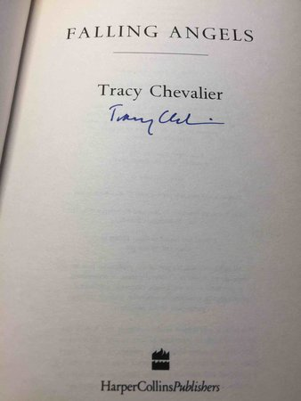 FALLING ANGELS. by Chevalier, Tracy.