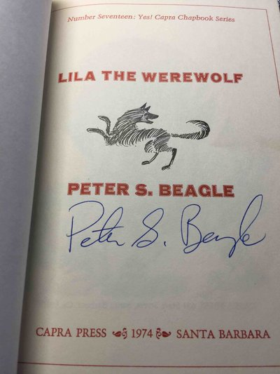 LILA THE WEREWOLF . by Beagle, Peter S.