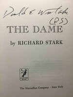 THE DAME. by Stark, Richard (pseudonym of Donald Westlake)