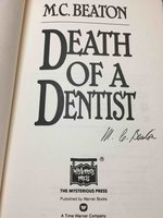 DEATH OF A DENTIST. by Beaton, M. C. (pseudonym of Marion Chesney, 1936-2019)