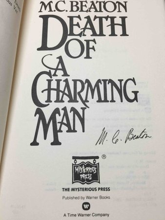 DEATH OF A CHARMING MAN. by Beaton, M. C.  (pseudonym of Marion Chesney)