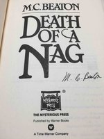 DEATH OF A NAG. by Beaton, M. C. (pseudonym of Marion Chesney, 1936-2019)
