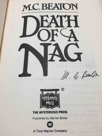 DEATH OF A NAG. by Beaton, M. C.  (pseudonym of Marion Chesney)