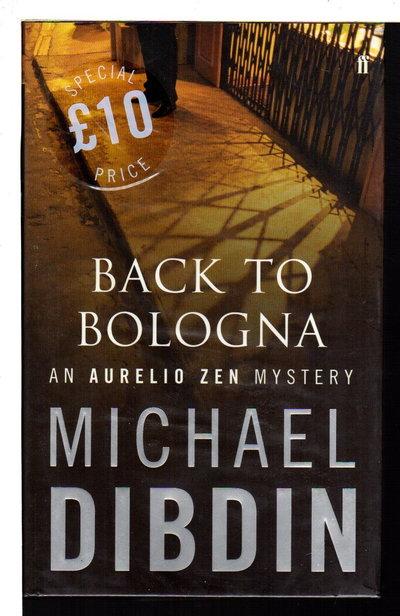 BACK TO BOLOGNA. by Dibdin, Michael.