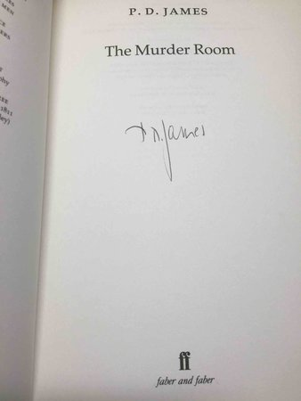 THE MURDER ROOM. by James, P. D.