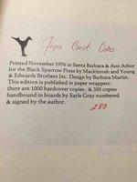 TRIUMPH OF THE SPIDER MONKEY. by Oates, Joyce Carol.