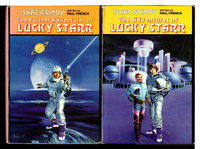THE ADVENTURES OF LUCKY STARR & THE FURTHER ADVENTURES OF LUCKY STARR  (2 book set)  by Asimov, Isaac (writing as Paul French).