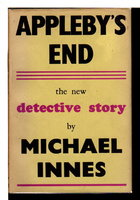 APPLEBY'S END. by Innes, Michael (pseudonym of J.I. M. Stewart).