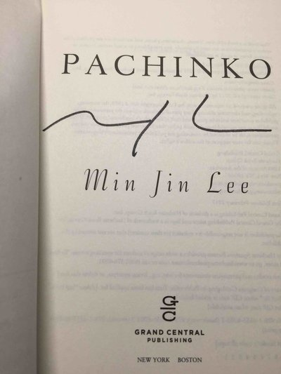 PACHINKO. by Lee, Min Jin.