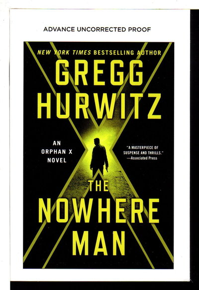 THE NOWHERE MAN. by Hurwitz, Gregg.