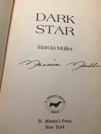DARK STAR. by Muller, Marcia.