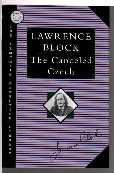 THE CANCELED CZECH. by Block, Lawrence.