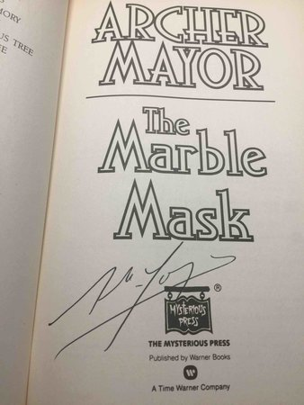THE MARBLE MASK. by Mayor, Archer.