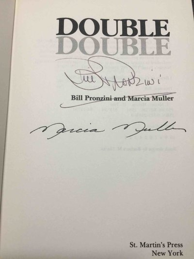 DOUBLE. by Pronzini, Bill and Marcia Muller.