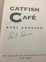 CATFISH CAFE. by Emerson, Earl.