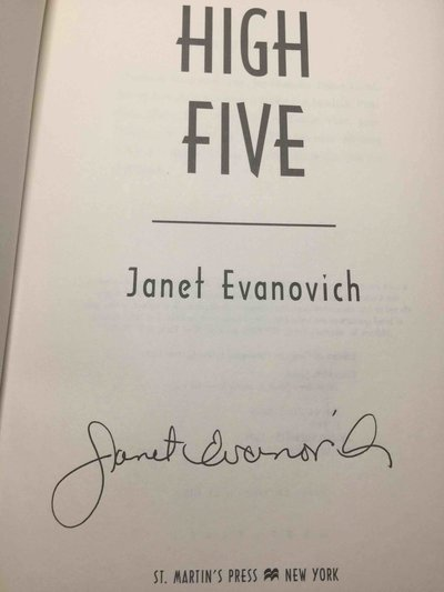HIGH FIVE. by Evanovich, Janet