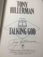 TALKING GOD. by Hillerman, Tony.