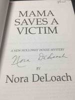 MAMA SAVES A VICTIM. by DeLoach, Nora (1940-2001)