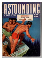 ASTOUNDING SCIENCE FICTION, Vol. XXVII No. 3, May 1941. by Heinlein, Robert; Asimov, Isaac; and others.