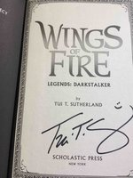 WINGS OF FIRE: LEGENDS: DARKSTALKER. by Sutherland, Tui T.