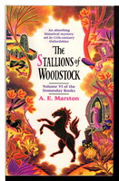 THE STALLIONS OF WOODSTOCK.  by Marston, Edward (pseudonym of Keith Miles)
