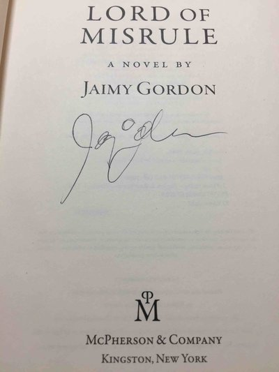 LORD OF MISRULE. by Gordon, Jaimy.