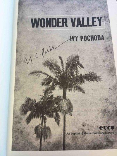 WONDER VALLEY. by Pochoda, Ivy.