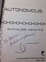 AUTONOMOUS: A Novel by Newitz, Annalee