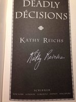 DEADLY DECISIONS. by Reichs, Kathy.
