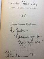 LEAVING YUBA CITY: Poems by Divakaruni, Chitra Banerjee