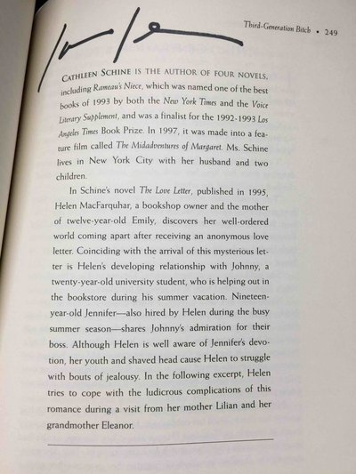 THE SOURCE OF THE SPRING: Mothers Through the Eyes of Women Writers. by [Anthology, signed] Shapiro, Judith, editor. Anna Quindlen, Cathleen Schine and Edwidge Danticat, signed.