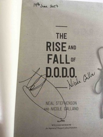 THE RISE AND FALL OF D.O.D.O. by Stephenson, Neal and Nicole Galland.