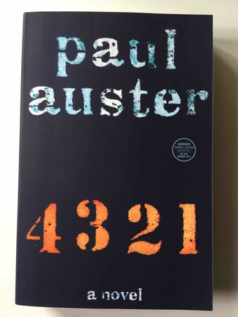 4 3 2 1. by Auster, Paul.