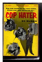 COP HATER. by McBain, Ed..
