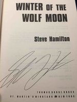 WINTER OF THE WOLF MOON. by Hamilton, Steve.