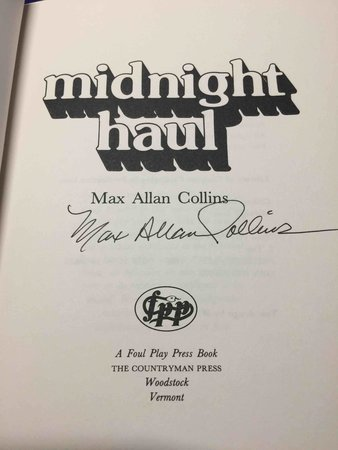 MIDNIGHT HAUL. by Collins, Max Allan.