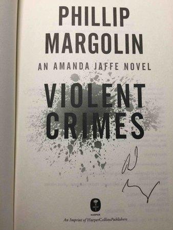 VIOLENT CRIMES. by Margolin, Phillip.