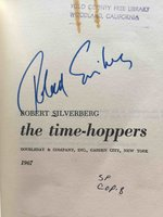 THE TIME HOPPERS by Silverberg, Robert