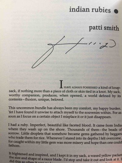 WILD WOMEN: Contemporary Short Stories By Women Celebrating Women. by Thomas, Sue, editor. Patti Smith, signed.