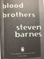 BLOOD BROTHERS by Barnes, Steven