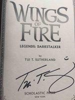 WINGS OF FIRE: LEGENDS: DARKSTALKER. by Sutherland, Tui T.