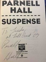 SUSPENSE. by Hall, Parnell.
