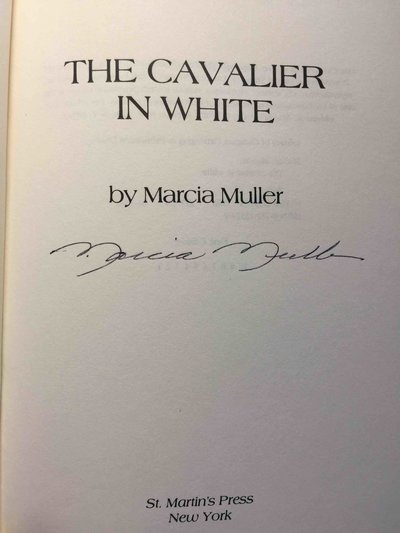 CAVALIER IN WHITE by Muller, Marcia