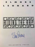 RIDING THE RAP. by Leonard, Elmore.